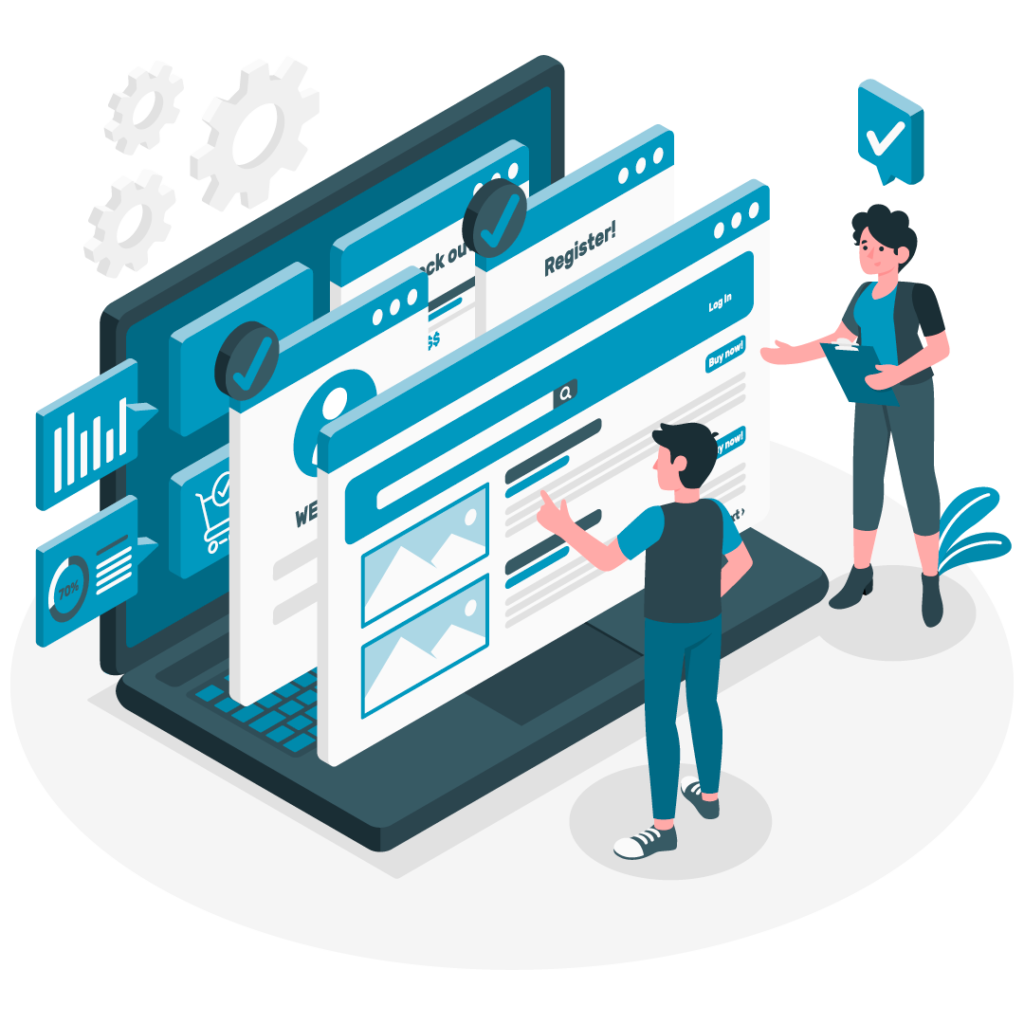 Desarrollo de infraestructuras cloud para la gestión de información y desarrollo de interfaces web personalizadas.