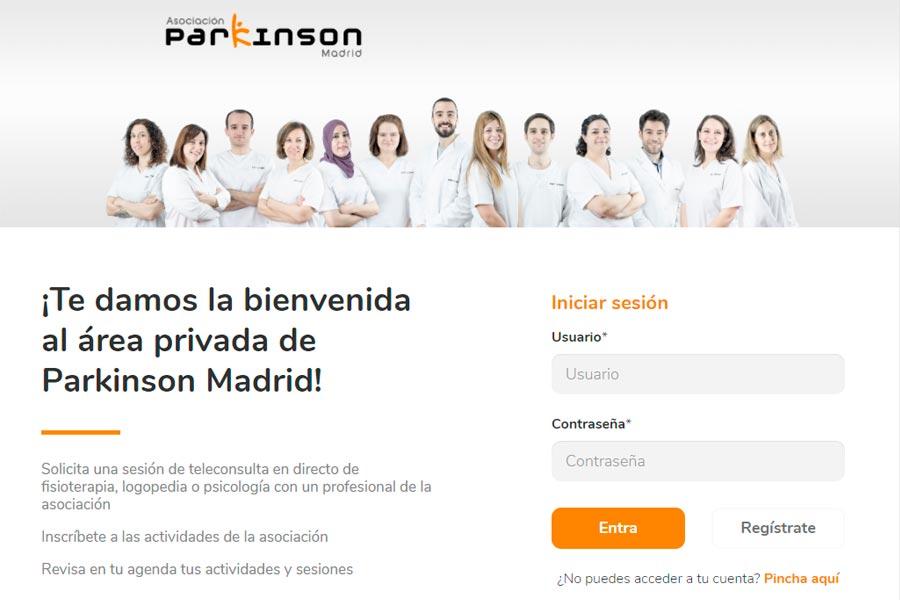 Gestión de afectados de Parkinson